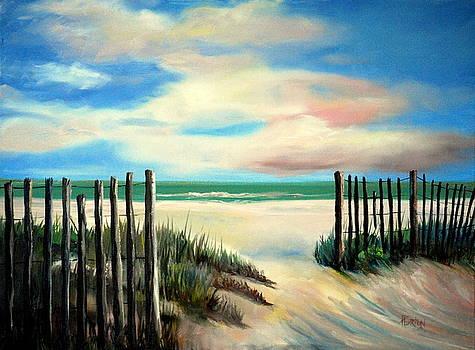 Myrtle Beach Sands by Phil Burton