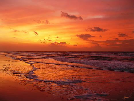 Myrtle Beach Sunrise II by Jeff Breiman