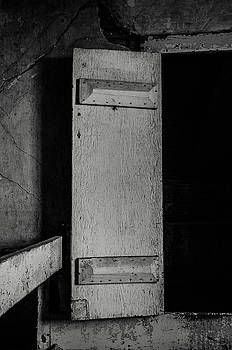 Mysterious Attic Door  by Off The Beaten Path Photography - Andrew Alexander