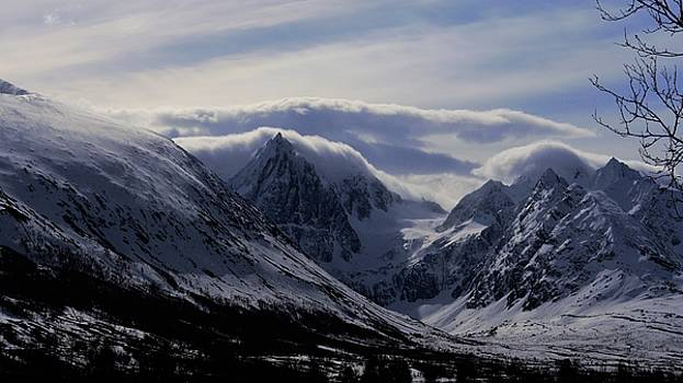 mystery mountains in North of Norway by Tamara Sushko
