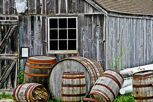 Mystic Barrels by Dawn Wayand