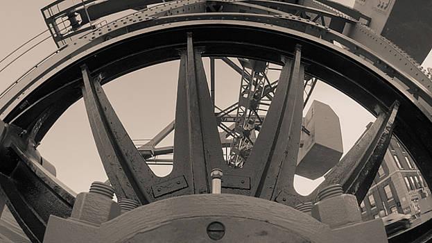 Mystic Bridge Gear in Mystic CT by Kirkodd Photography Of New England