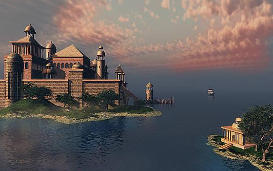 Mystic Fantasy Town by Britta Glodde
