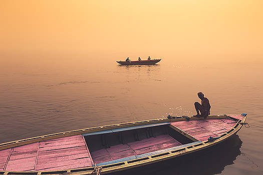 Mystic Ganges by Marji Lang