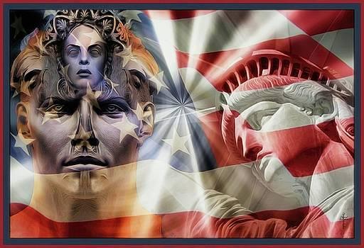 Mystic Liberty by Daniel Arrhakis