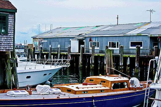 Mystic Pier I by Dawn Wayand