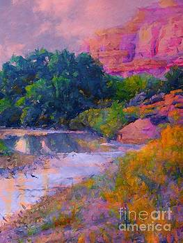 Mystic pinks in Canyon by Annie Gibbons
