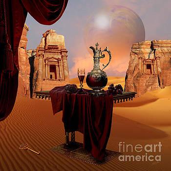 Alexa Szlavics - Mystic ruins in desert