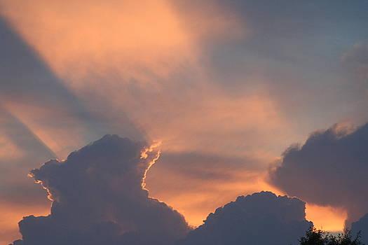 Mystic Sunset by Shaileen Landsberg