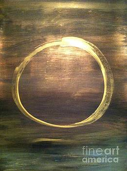 Mystical Enso by Uldra Patty Johnson