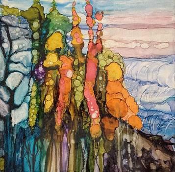Mystical Garden by Suzanne Canner