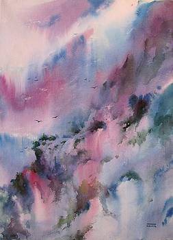 Mystical Mountains by Sandeep Khedkar