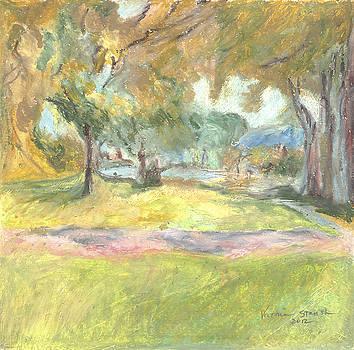 Mystical Path by Victoria Stavish