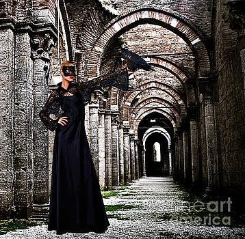 Mystical Raven by Milan Karadzic
