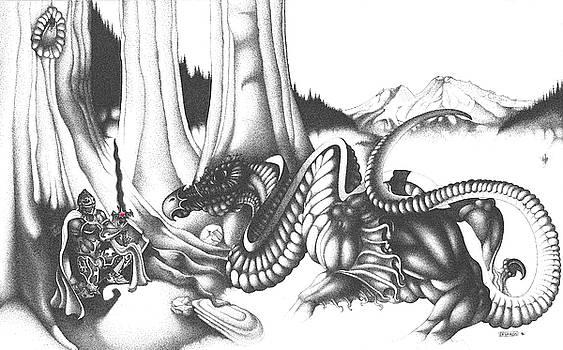 Mystical Riverbed by Devaron Jeffery