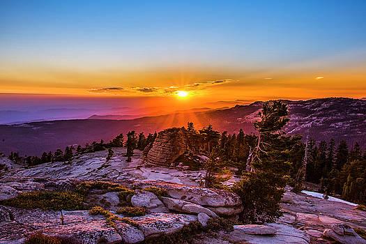 Mystical sunset by Khalid Mahmoud