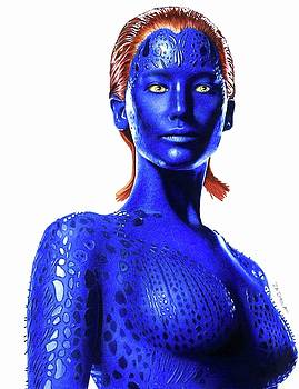 Mystique Drawing by Jasmina Susak