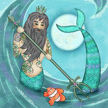 N is for Neptune by Valerie Drake Lesiak