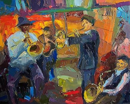 Nola Jazz  by Roland Kay