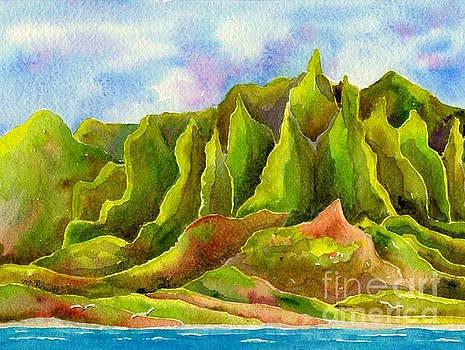 Na Pali Coast by Melanie Pruitt