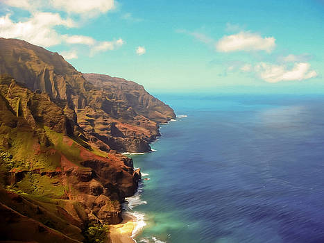 Na Pali Coast by Susan Rissi Tregoning