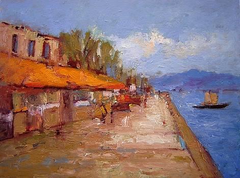 Nafplio Greece by R W Goetting