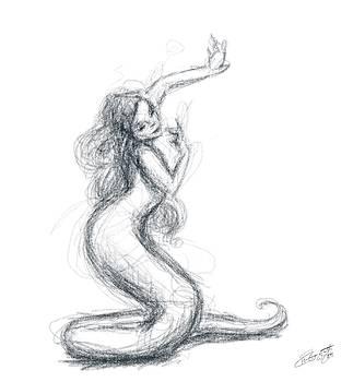 Naga Dancer by Hannah Starrett Wright