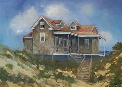 Nags Head NC Beach Cottage by Lisa Godfrey