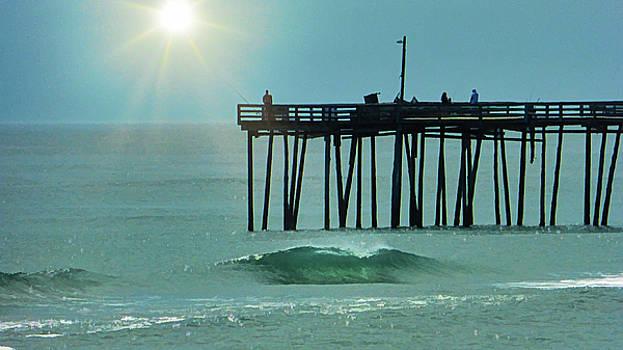 Nags Head Pier by Robert Meyerson