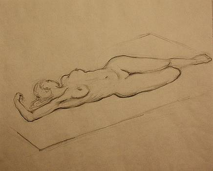 Sleeping Nude by Amela Subasic