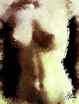 Naked Female Torso  by Joan Reese
