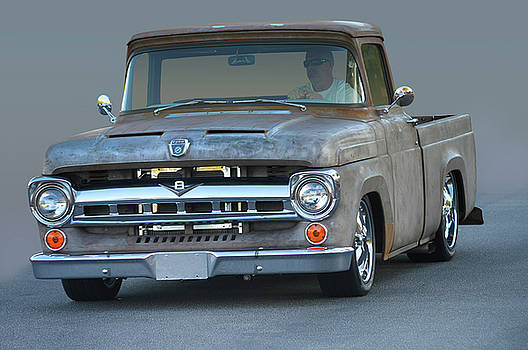 Naked Ford Pickup by Bill Dutting