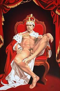 Naked king by Dmitry Dmitriev