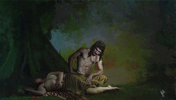 Nala Damayanti in vanawaas by Shreeharsha Kulkarni