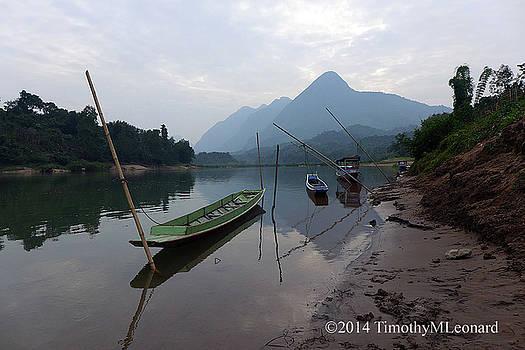 Nam Ou River by Timothy Leonard