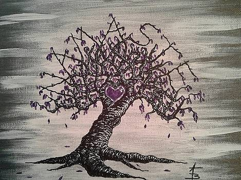 Namaste Love Tree by Aaron Bombalicki