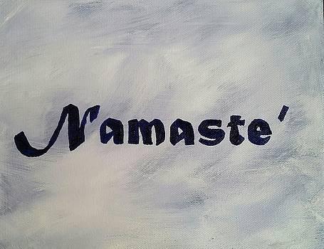 Namaste' by Sallie Wysocki