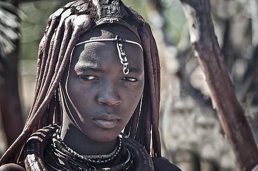 Himba princess by Sandy Schepis