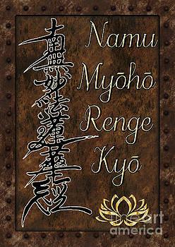 Namu Myoho Renge Kyo by Lita Kelley