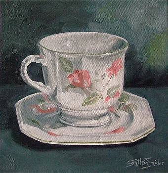 Nana's Teacup by Cynthia Snider