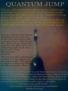 Phillip H George - NANOMICROINFINITY ART QUANTUM JUMP