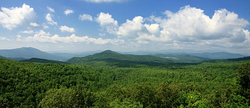 Jill Lang - Nantahala National Forest Panorama