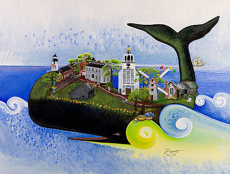 Nantucket - A Whale of a Town by Theresa LaBrecque