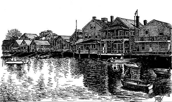 Nantucket Harbor Number Two by Dan Moran