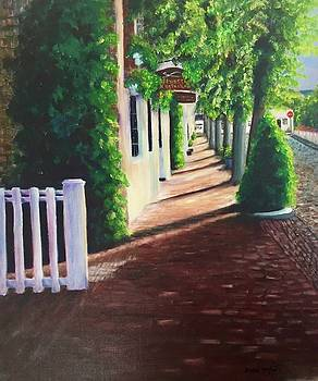 Nantucket storefronts by Michael McGrath