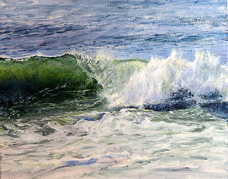 Nantucket surf by Glen Hacker