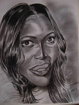 Naomi Campbell by Thomasina Marks