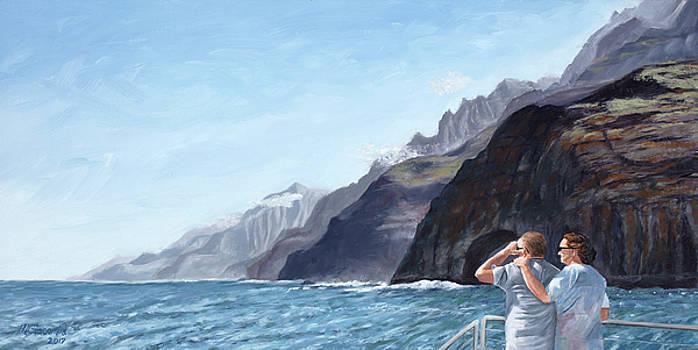 Napali Coast Cruise by Mary Giacomini