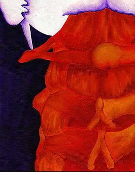 Nape of Neck by M Blaze Wolenski