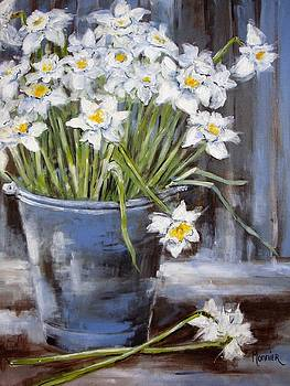 Narcisses by Cathy MONNIER